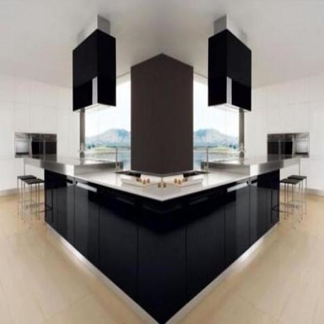 Modern Black And White Kitchen by Futura Cucine | Architecture and Design Magazine | Scoop.it
