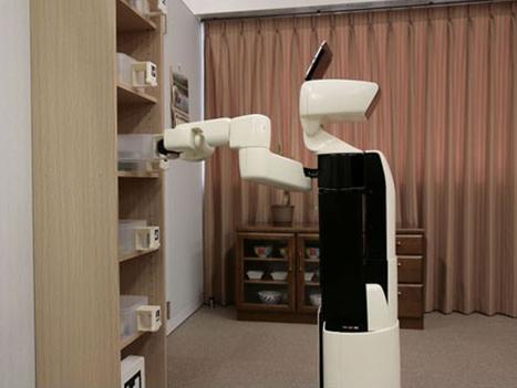Human Support Robot, un robot pour aider les personnes handicapées | Cabinet de curiosités numériques | Scoop.it