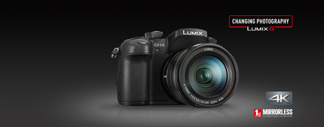 DMC-GH4HEB Lumix G Compact System Cameras (DSLM) - Panasonic UK & Ireland | Photography at large | Scoop.it