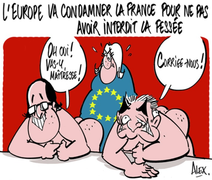 L'Europe va condamner la France pour ne pas avoir interdit la fessée | Baie d'humour | Scoop.it