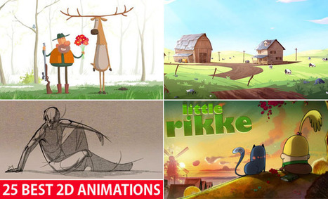 25 Best 2D Animation Videos and Short films for your inspiration   Video making in the cloud   Scoop.it