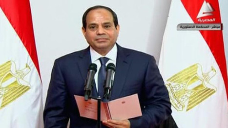 Former Military Leader El-Sissi Sworn as New President of Egypt | News | FanPhobia - Celebrities Database | FanPhobia Celebrities News | Scoop.it
