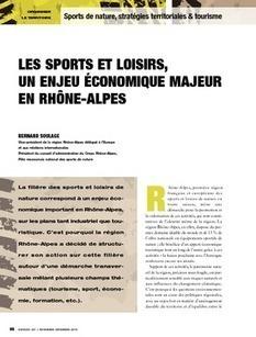 REVUE-ESPACES | Les sports et loisirs, un enjeu économique majeur en Rhône-Alpes | Tourisme de randonnées                                                                                                                                                                                 & Sports de nature pour les pros | Scoop.it