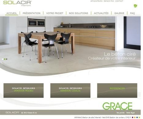Solacir® Interiors : le site internet idéal  pour localiser l'applicateur de béton ciré le plus près de chez soi | Matériaux de construction | Scoop.it
