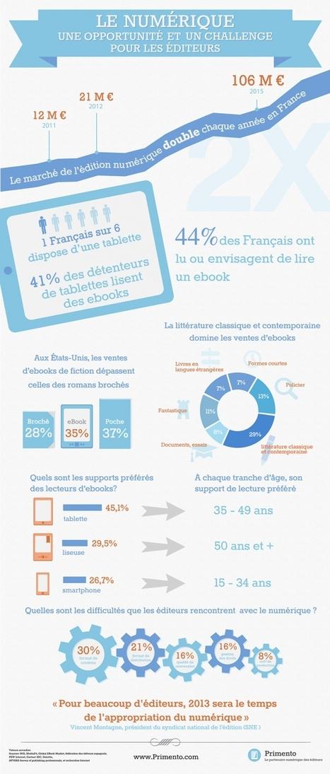 [Numérique] Les chiffres de l'édition numérique en France | Communication - Edition_Mode Pause | Scoop.it