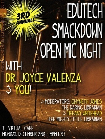EduTech Smackdown Open Mic Night | The Daring Librarian | Daring Library Ed Tech | Scoop.it