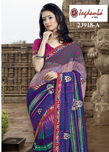 Buy Casual Sarees Online | Surat Sarees Online from JagdambaSarees | Scoop.it