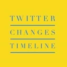 Twitter Changes Timeline- | Social Media | Scoop.it