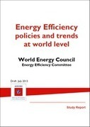 [Study] #Energy efficiency policies and trends at world level (English/French) | Les éco-activités dans le monde | Scoop.it