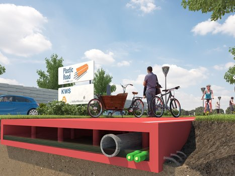 A Dutch city has come up with a genius plan that could eventually eliminate asphalt roads | Communication design | Scoop.it