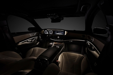 New S-Class W222 Wins Connected Car of The Year Award | #Technology | Scoop.it