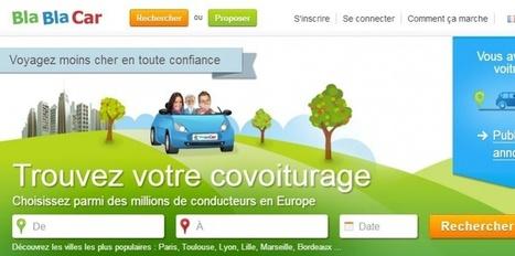 Covoiturage: Blablacar a passé le cap des 10 millions de membres | CoRévolution | Scoop.it