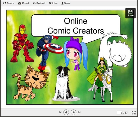Great Resources for Teaching Using Comics ~ Educational Technology and Mobile Learning | Educational Technology | Scoop.it