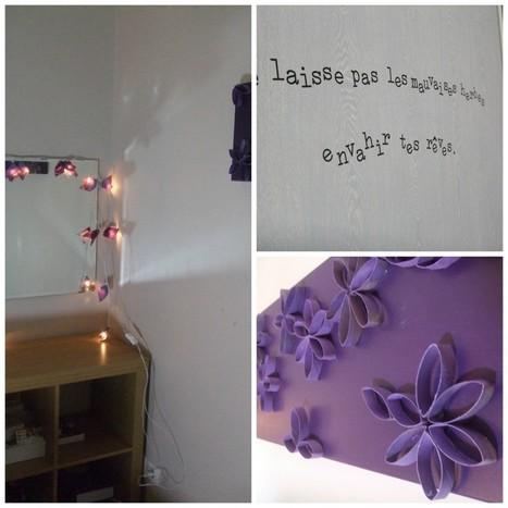 Ma chambre DIY : un lit en palettes en bois et d'autres jolies choses ... | Recycle | Scoop.it