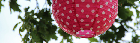 Lampions : quand des boules chinoises embellissent une décoration | Tendances du moment | Déco & mariage | Scoop.it