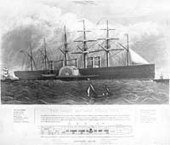 Civilian Ships -- Great Eastern (British Steamship, 1859)   Murder on the Leviathan   Scoop.it