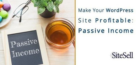 Make Your WordPress Site Profitable: Passive Income - The SiteSell Blog | The Content Marketing Hat | Scoop.it