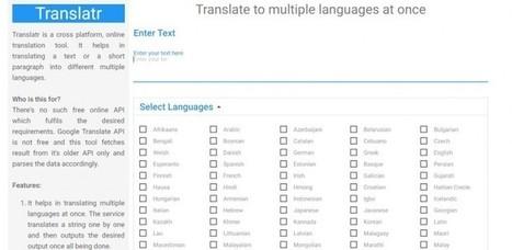 Una web para traducir un texto en varios otros idiomas con un solo click | EmiliWebs | Scoop.it