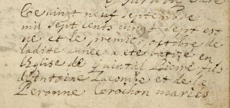 La Savoie au XVIIIe siècle : Pierre LACOMBE, soldat dans le régiment de Chablais | GenealoNet | Scoop.it