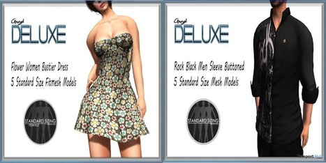 Shirt and Dress Teleport Hub Group Gifts by Angel DELUXE | Teleport Hub - Second Life Freebies | Second Life Freebies | Scoop.it