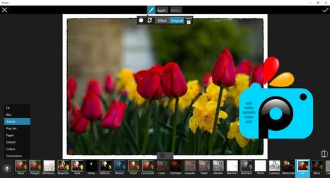 PicsArt - transforme vos photos prises avec votre smartphone en oeuvres d'art | Chroniques libelluliennes | Scoop.it
