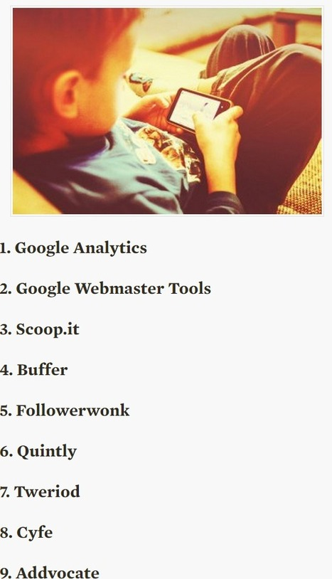 9 Free Analytic Tools to Measure Your Content Effectiveness   digital marketing strategy   Scoop.it
