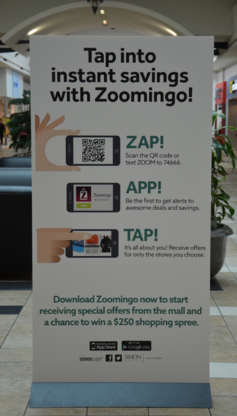 Simon Malls, Zoomingo team up to help shoppers save money - Mobile Commerce Daily - Multichannel retail support      Mall Zee    Mall as Culture   Mall as Metaphor   Mall as Mall      Scoop.it
