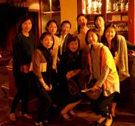 Lacaune. Un groupe d'étudiantes japonaises en visite | Tourisme dans les Monts de Lacaune | Scoop.it