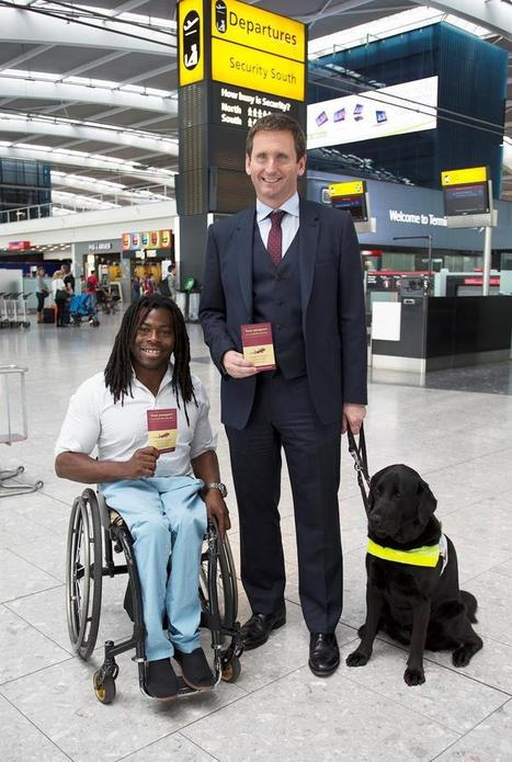 A new guide for disabled passengers has today been launched at Heathrow - Rolling Rains Report | Turismo Accessibile | Scoop.it