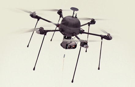 The Drone That Might Never Come Down | MIT Technology Review | Entrepreneurship, Innovation | Scoop.it