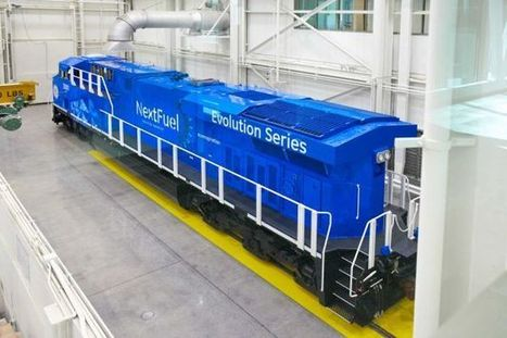 Natural gas locomotives may prove cheaper, cleaner | Sustain Our Earth | Scoop.it