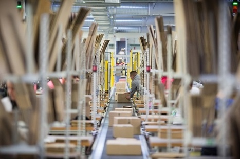 Amazon France passe le seuil du million de colis en une journée | Logistique et Transport GLT | Scoop.it