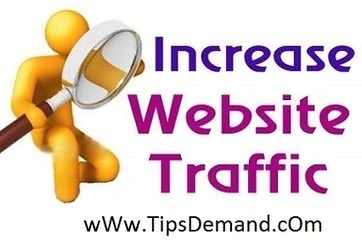How To Increase Website Traffic For Beginners Today | TipsDemand.com | Blogging Tips | Scoop.it