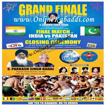 Final Match: India vs Pakistan and Closing Ceremony Of 3rd Kabaddi World Cup 2012 | InternetTopics | Scoop.it