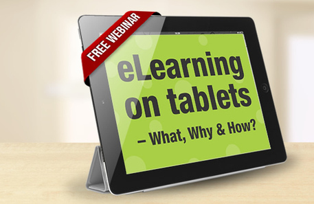 Elearning On Tablets – What, Why & How? - TrainingZone.co.uk (blog) | Social Learning | Scoop.it