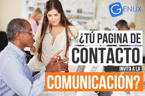 ¿Tu página de contacto, invita a la comunicación?   Genux - Desarrollo Web - Diseño Paginas Web Uruguay   Desarrollo y Diseño web   Scoop.it