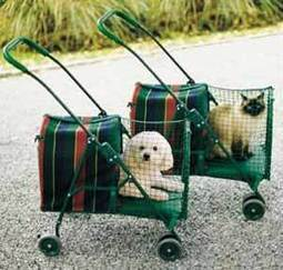 KittyWalk Pet Stroller - Cat Lover Cat Supplies at Cat Fancy Gifts | Dog Strollers For Small Dogs | Scoop.it