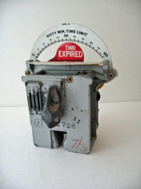vintage Industrial parking meter   Vintage bits & bobs...   Scoop.it