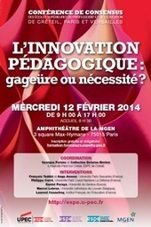 2014 - L'innovation pédagogique : gageüre ou nécessité ? | eLearning - entre pedagogies et technologies - between pedagogy et technology | Scoop.it