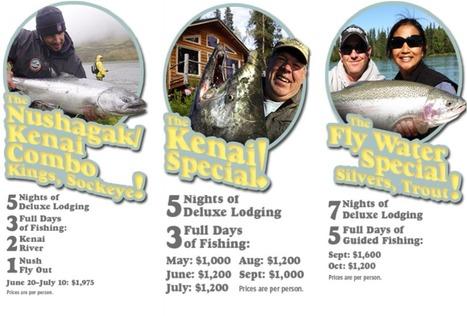 Savor river fishing in Alaska | Savor river fishing in Alaska | Scoop.it