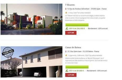 Crowdfunding : cap sur l'immobilier ! | L'immobilier et le digital | Scoop.it