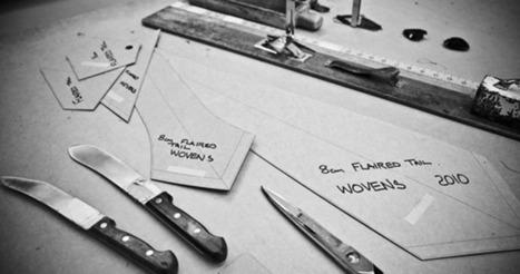 Drake's English Handmade Ties - Henry Buck's Menswear   men's ties   Scoop.it