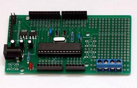 Perfuino Uno Kit Allows You To Build A Custom Arduino Board   Raspberry Pi   Scoop.it