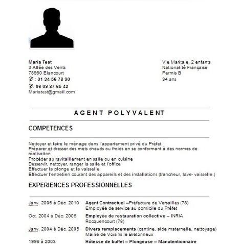 39 cv 39 in fran ais langue trang re - Travailler dans le pret a porter sans experience ...