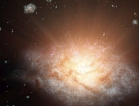 Découverte de la galaxie la plus lumineuse de l'Univers | Beyond the cave wall | Scoop.it