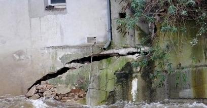 L'évacuation d'une maison fissurée à Quimperlé après les inondations | Malfaçon construction | Scoop.it