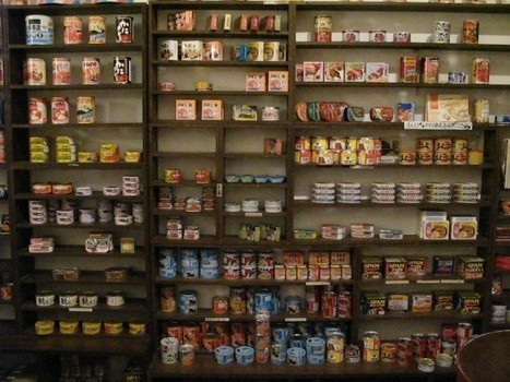 Mr. Kanso – Japan's Weird Canned Food Restaurants | Strange days indeed... | Scoop.it