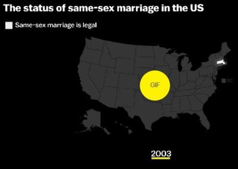 The Supreme Court just legalized same-sex marriage across the US | Geography Education | Scoop.it
