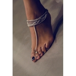 Barof Toe Ring-Anklet | Jewlery and Accessories | Scoop.it