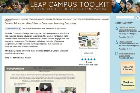 Who's talking about their use of ePortfolios?   Areas of Exploration   Scoop.it